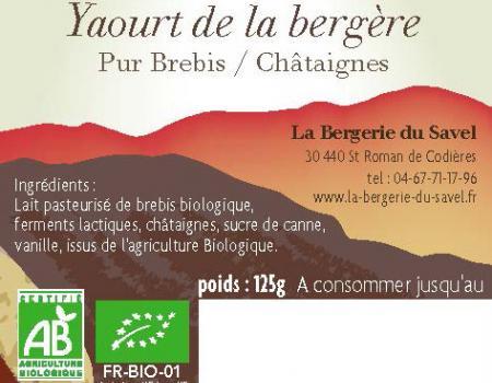 Yaourt Châtaignes